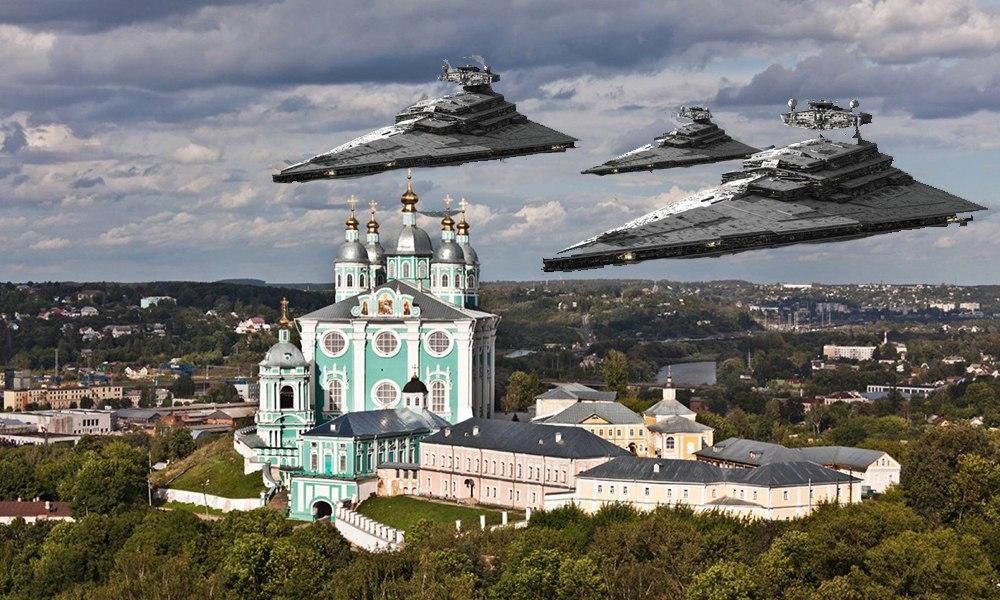 Звездные войны Смоленск, комикс