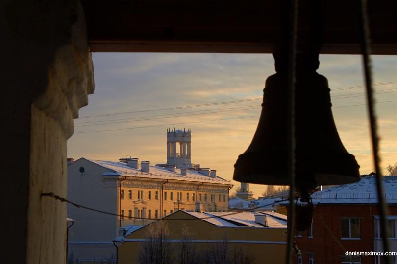Вид с колокольни keytown.me
