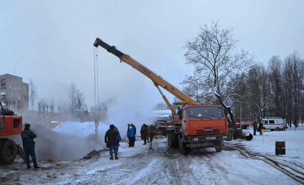 ВСмоленске завершены работы поустранению трагедии натеплотрассе
