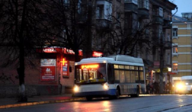 бесконтактный троллейбус, смоленск