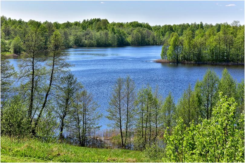 13 мая 2016 г., озеро Ржавец, д.Городище, Демидовский район.. Фотограф: Геннадий Дубино