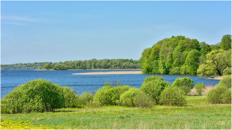 14 мая 16 озеро Акатовское Демидовский район. Фотограф: Геннадий Дубино