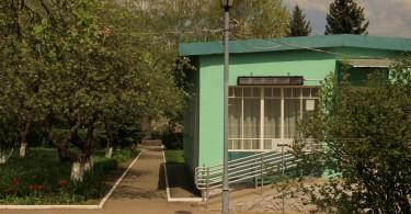 Территория дома-музея родителей Юрия Гагарина