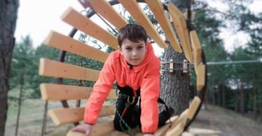 Смоленское поозерье веревочный парк