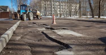 в Смоленске отремонтируют дорогу на Кловку