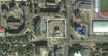 торговый центр на месте парковки в смоленске