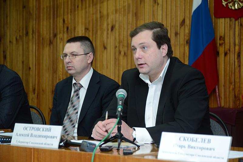 В Смоленске отправлен в отставку начальник правового департамента Дмитрий Шалаев