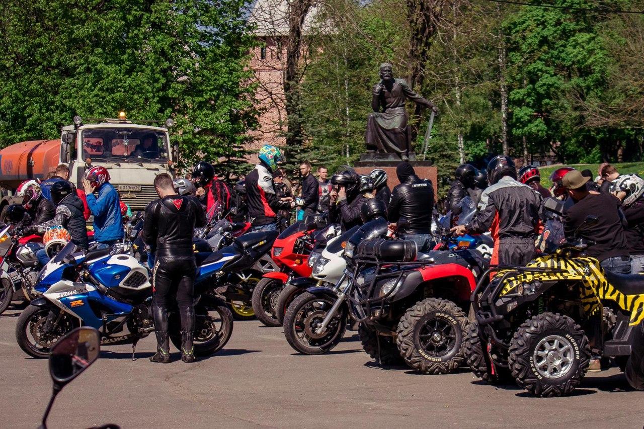 Открытие мотосезона Смоленск