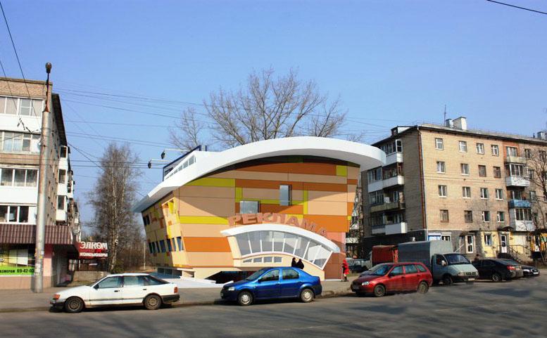В Смоленске на пешеходной зоне хотят построить торговый центр