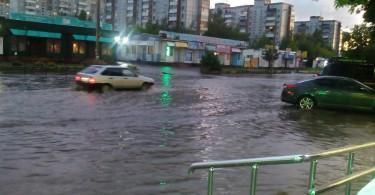 ливень дождь гроза потоп