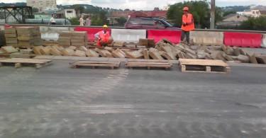 в смоленске начался ремонт пятницкого путепровода