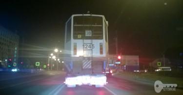 В Смоленск доставили первый московский подержанный трамвай