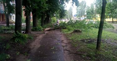 Верхнеднепровский ливень
