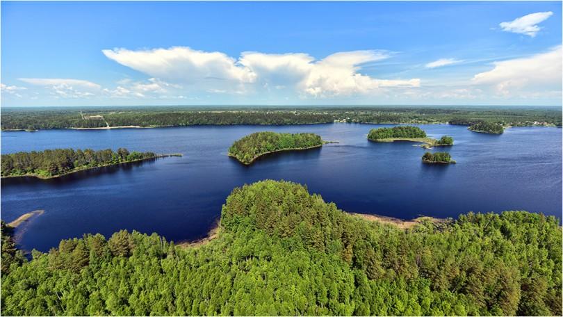 Озеро Сапшо Фото: Геннадий Дубино