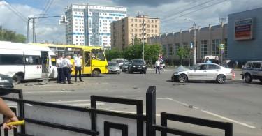 В Смоленске в аварии с маршруткой пострадали 8 человек