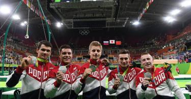 Никита Нагорный выступил в сборной России в командном многоборье