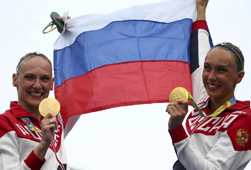 олимпиада синхронное плавание Ищенко