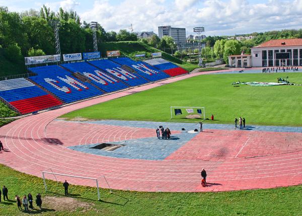 """стадион """"Спартак"""" в Смоленске закроют"""