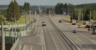 Завершён ремонт трассы из Брянска в Смоленск