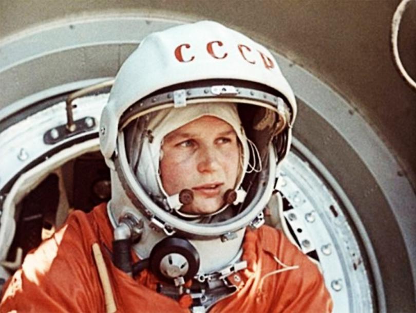первая женщина-космонавт Валентина Терешкова