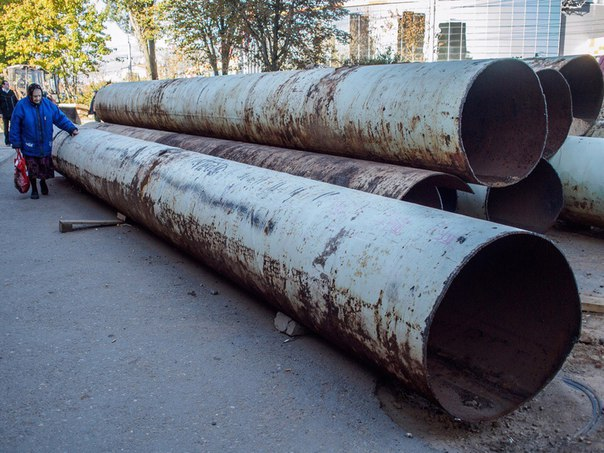 В центре Смоленска заменят трубы