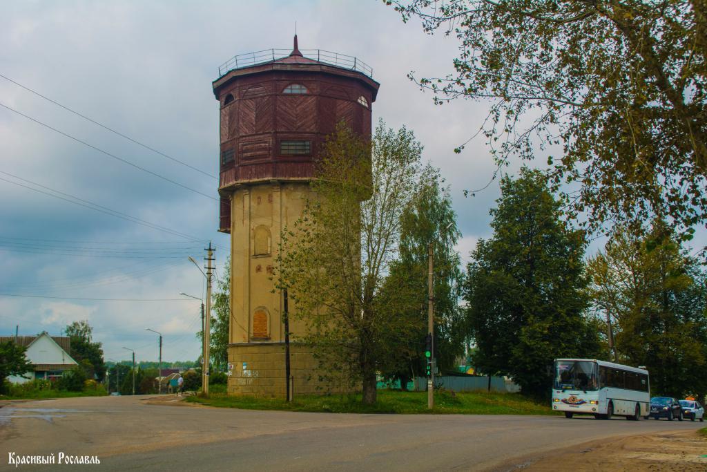 водонапорная башня в Рославле