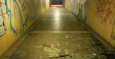 подземный переход на колхозной площади, смоленск