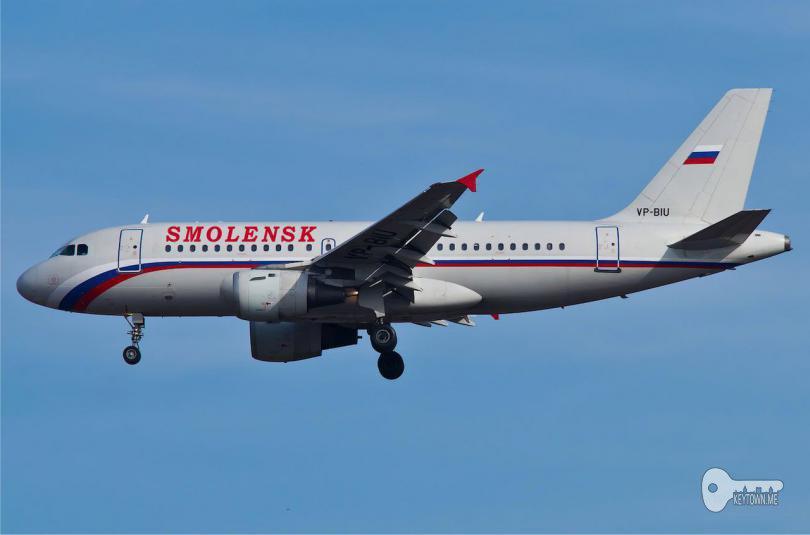 """новый самолет обновленной """"России"""" назвали в честь одного из российских городов - Смоленска"""