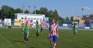 смоленские футболисты проиграли в матче за кубок россии