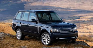 range rover автомобиль