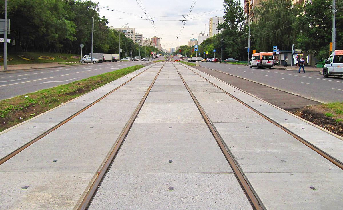 рисунок 14. Москва (Россия). Чертановская улица (13.08.16)