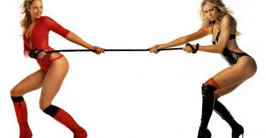 девушки спорт