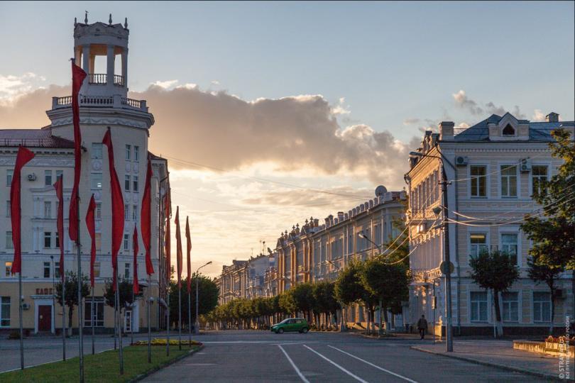 Смоленск лучший город для встречи нового года в России
