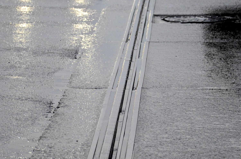 рисунок 5. Смоленск (Россия). Волновой износ рельсов на ул. Крупская (25.07.15)