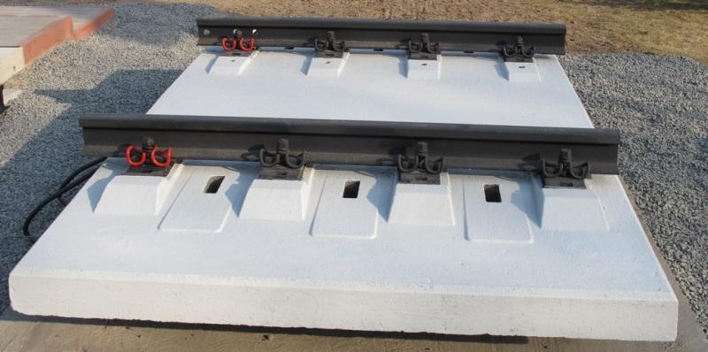 рисунок 9. ЖБ-плиты БМП (безбалластное мостовое полотно)