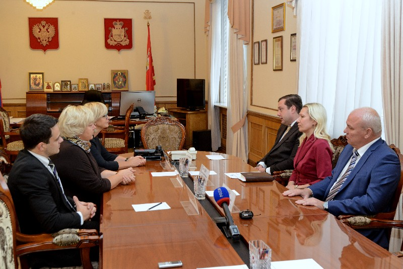 Рабочая встреча Алексея Островского с Послом Латвийской Республики