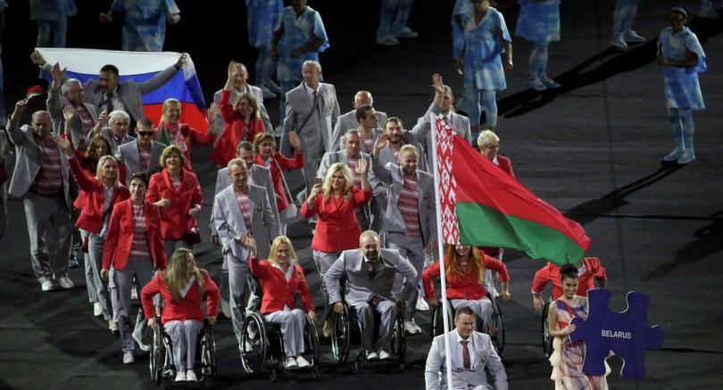 паралимпиада белоруссия россия спорт