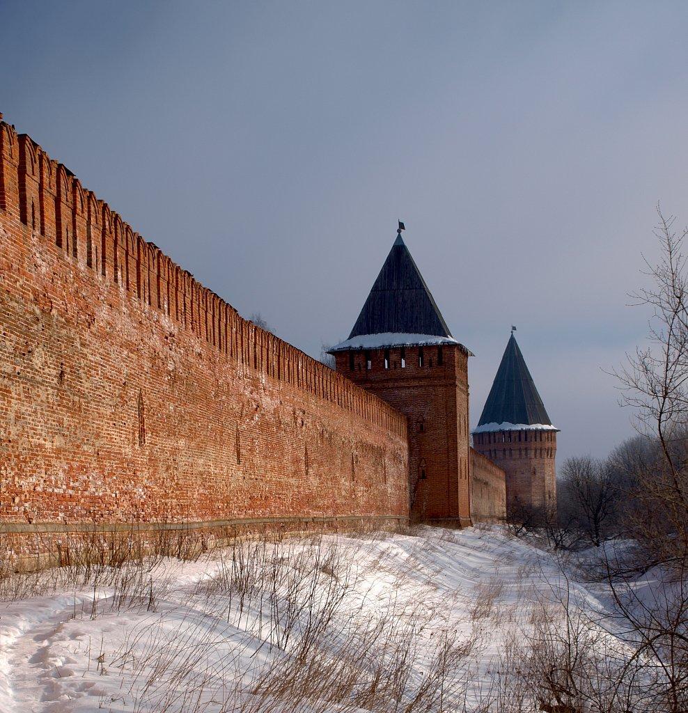 Смоленская крепостная стена, крепость