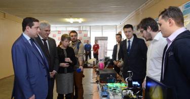 Алексей Островский встретился со студентами Смоленского филиала Национального исследовательского университета «МЭИ»