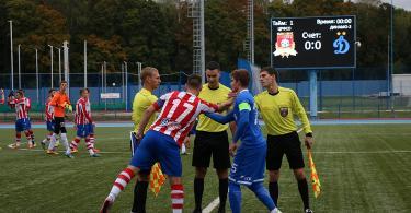 смоленский футбольний клуб днепр продолжает проигрывать