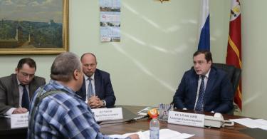 смоленский губернатор провел прием граждан