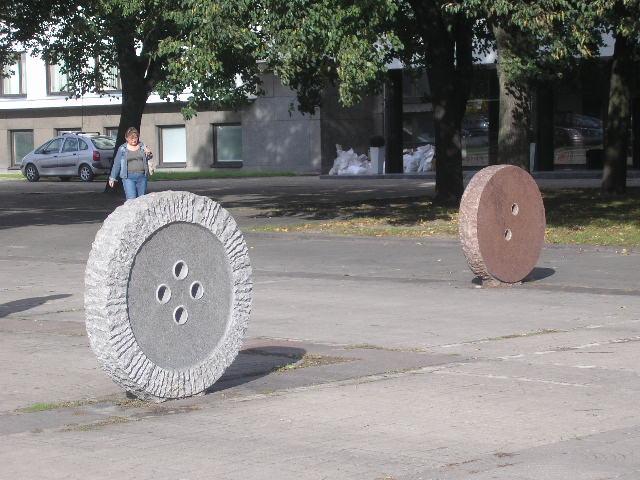 Пуговица в Литве