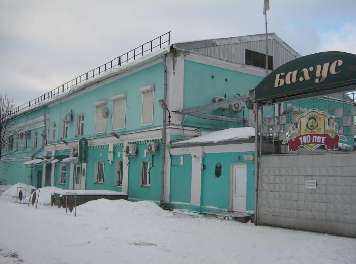 ликероводочный завод Бахус