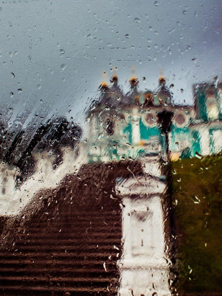 дождь, осень, губарев, собор