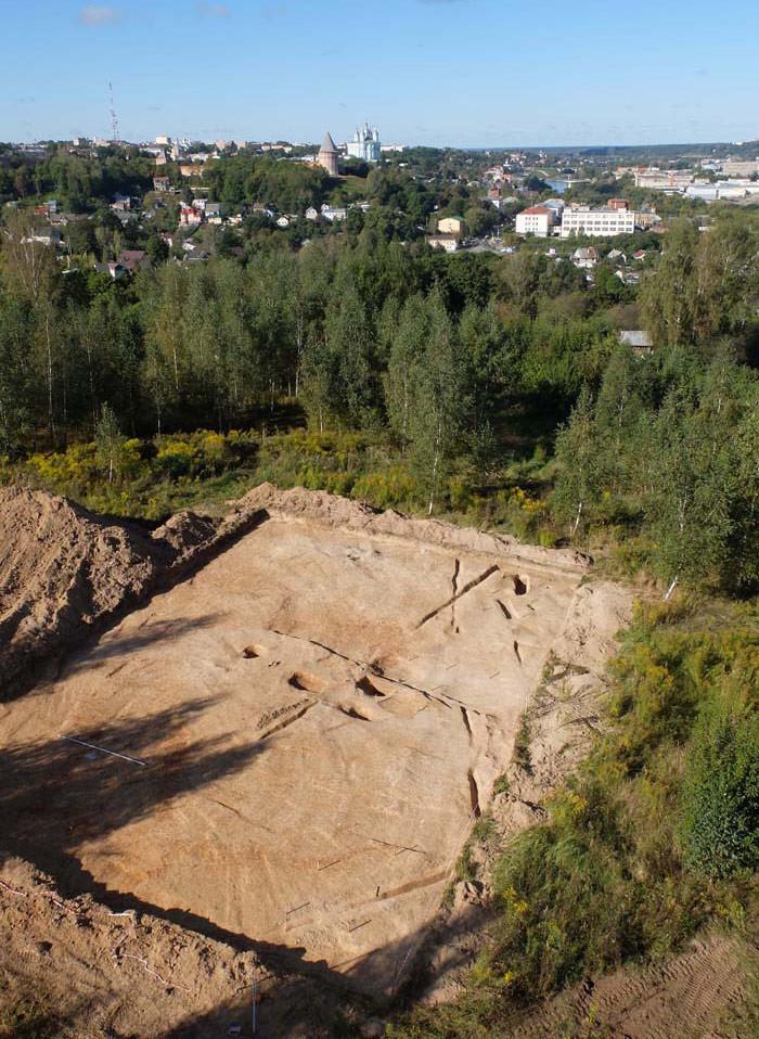 В Смоленске археологи нашли городище домонгольского периода