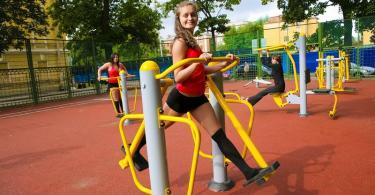 На месте скейт-парка в Смоленске установят антивандальные тренажёры