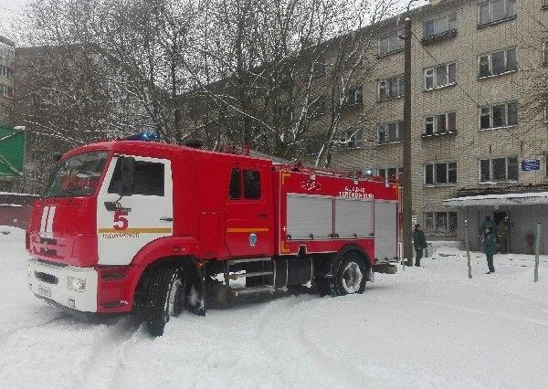 В Смоленске произошёл пожар в общежитии