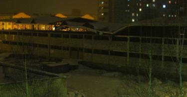В Ярцево обрушилась крыша торгового центра