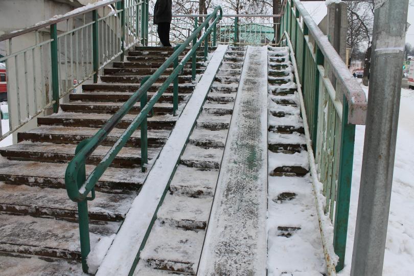 снегопад парализовал смоленск