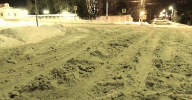 Центральный перекрёсток Дорогобужа